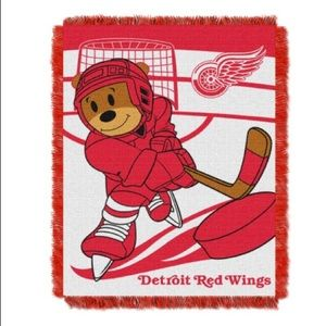 Detroit Red Wings Baby Jacquard Woven Throw